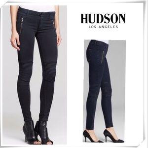 Hudson Stark Moto Super Skinny Jeans